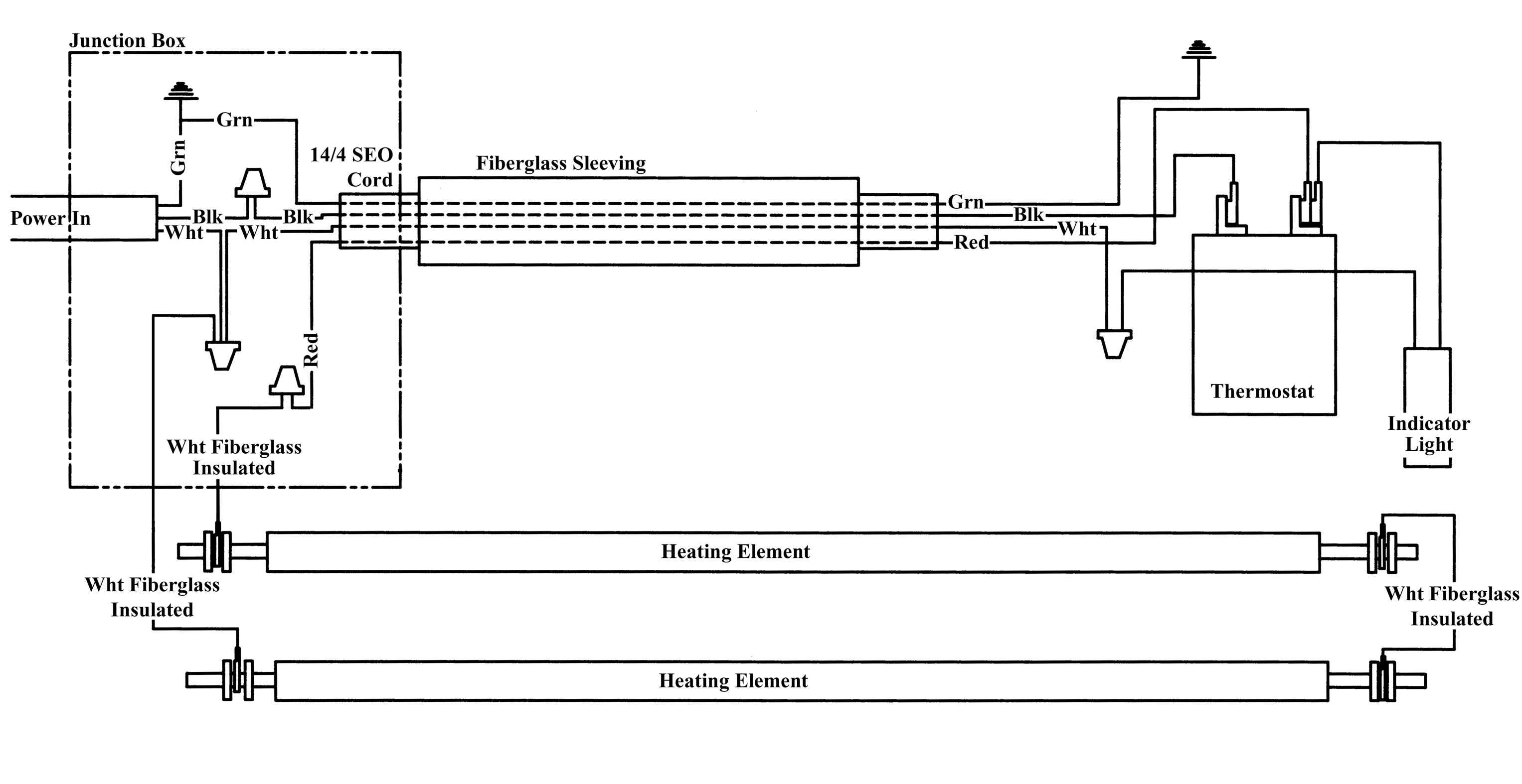 Single Element Wiring Diagram Another Blog About Hot Water Phase 480v Light Get Free Image